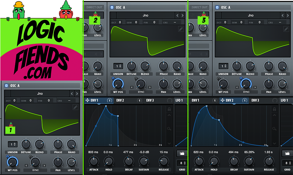 Settings for our First Serum Tutorial