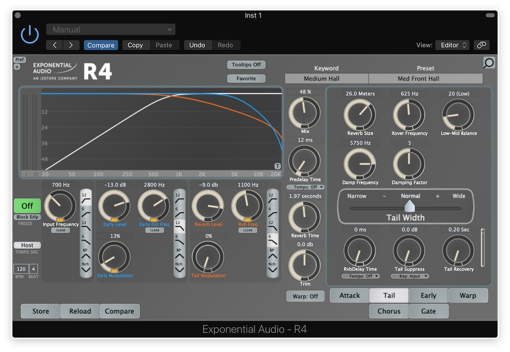 Exponential Audio R4 Filters